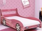 cama solteiro gelius carro princesa pink